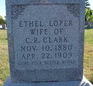 CLARK, ETHEL LOPER - Warren County, Iowa | ETHEL LOPER CLARK