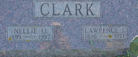 CLARK, NELLIE O - Warren County, Iowa | NELLIE O CLARK