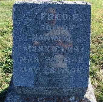 CLARY, FRED E. - Warren County, Iowa | FRED E. CLARY