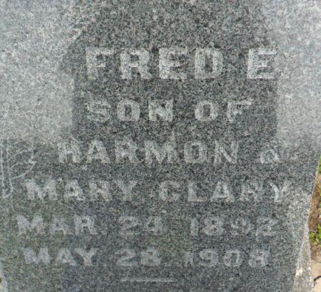 CLARY, FRED E. - Warren County, Iowa | FRED E. CLARY