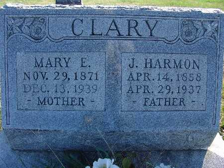 LABRANCHE CLARY, MARY E. - Warren County, Iowa | MARY E. LABRANCHE CLARY