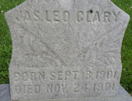 CLARY, JAMES LEO - Warren County, Iowa | JAMES LEO CLARY