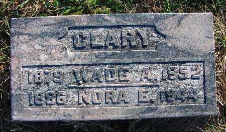 BYERS CLARY, NORA E. - Warren County, Iowa | NORA E. BYERS CLARY