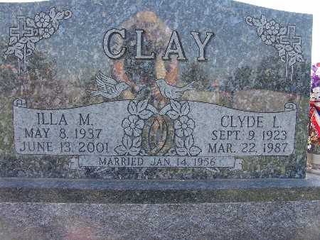 CLAY, ILLA M. - Warren County, Iowa | ILLA M. CLAY