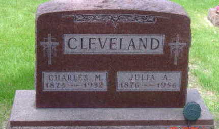 CLEVELAND, JULIA A - Warren County, Iowa | JULIA A CLEVELAND