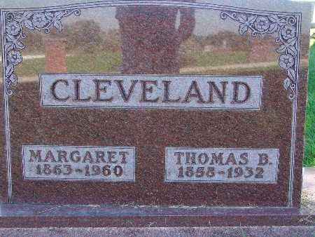 CLEVELAND, MARGARET - Warren County, Iowa | MARGARET CLEVELAND