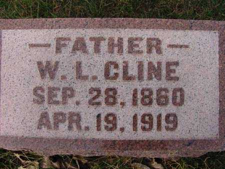 CLINE, W. L. - Warren County, Iowa | W. L. CLINE