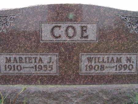 COE, WILLIAM N. - Warren County, Iowa | WILLIAM N. COE