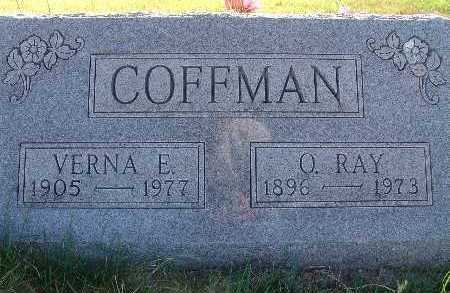 COFFMAN, O. RAY - Warren County, Iowa | O. RAY COFFMAN