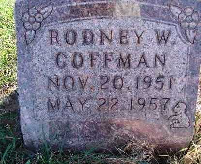 COFFMAN, RODNEY W. - Warren County, Iowa | RODNEY W. COFFMAN