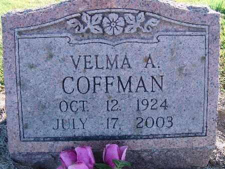 COFFMAN, VELMA A. - Warren County, Iowa | VELMA A. COFFMAN