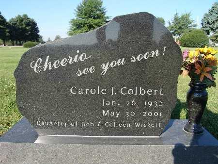 COLBERT, CAROLE J. - Warren County, Iowa | CAROLE J. COLBERT