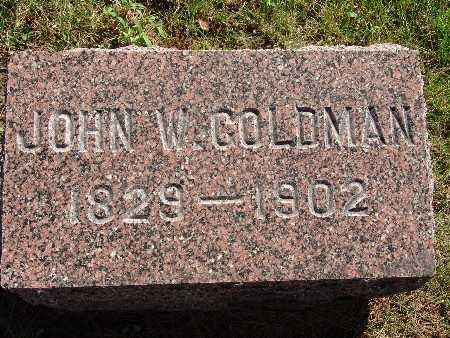 GOLDMAN, JOHN W - Warren County, Iowa | JOHN W GOLDMAN