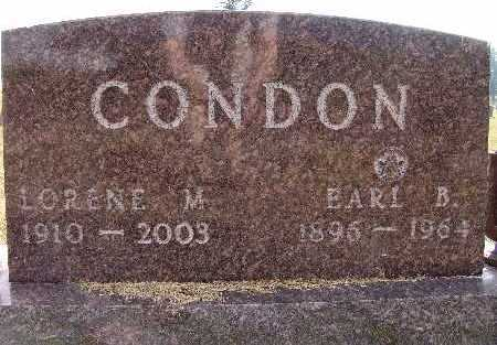 CONDON, LORENE M. - Warren County, Iowa | LORENE M. CONDON