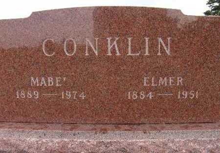 CONKLIN, ELMER - Warren County, Iowa | ELMER CONKLIN