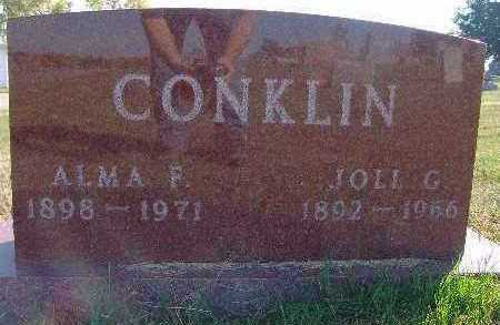 CONKLIN, ALMA F. - Warren County, Iowa | ALMA F. CONKLIN