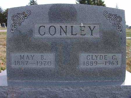 CONLEY, MAY B. - Warren County, Iowa | MAY B. CONLEY