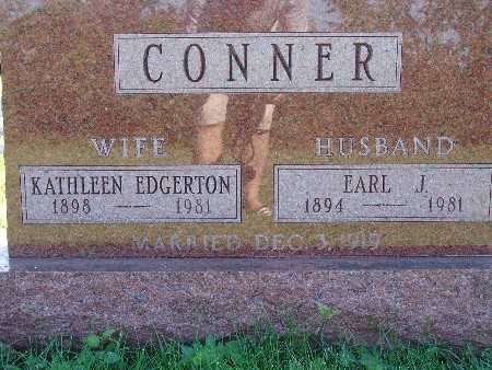 CONNER, EARL J - Warren County, Iowa | EARL J CONNER