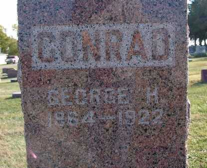 CONRAD, GEORGE H. - Warren County, Iowa | GEORGE H. CONRAD