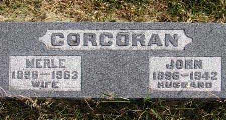 CORCORAN, MERLE - Warren County, Iowa | MERLE CORCORAN