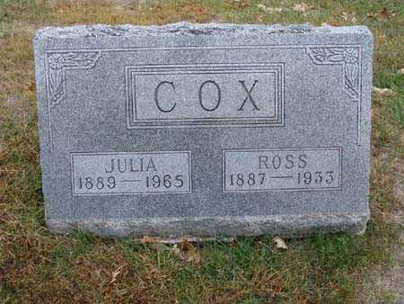 COX, JULIA - Warren County, Iowa | JULIA COX