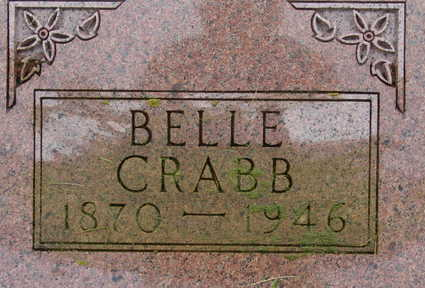 CRABB, BELLE - Warren County, Iowa | BELLE CRABB