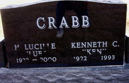 KENNEDY CRABB, KENNETH C. AND HELEN LUCILLE - Warren County, Iowa | KENNETH C. AND HELEN LUCILLE KENNEDY CRABB