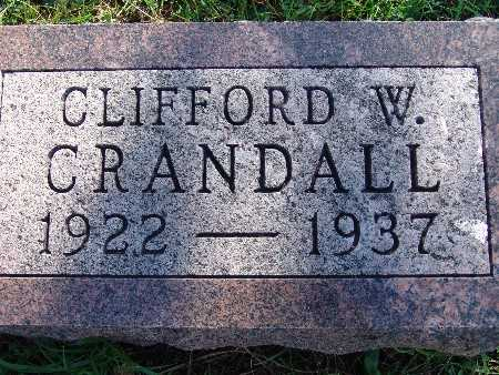 CRANDALL, CLIFFORD W - Warren County, Iowa | CLIFFORD W CRANDALL