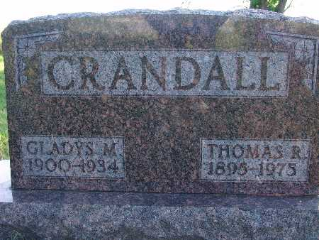 CRANDALL, THOMAS R - Warren County, Iowa | THOMAS R CRANDALL