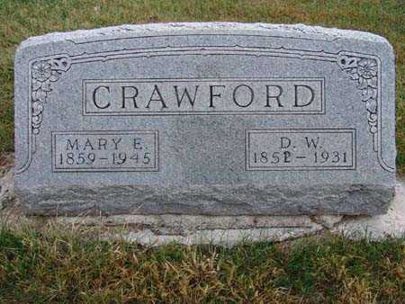 MCKINNEY CRAWFORD, MARY E. - Warren County, Iowa | MARY E. MCKINNEY CRAWFORD