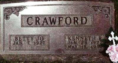 CRAWFORD, BETTY JO - Warren County, Iowa | BETTY JO CRAWFORD