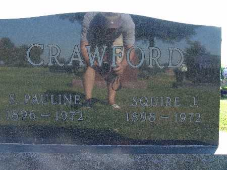 CRAWFORD, S. PAULINE - Warren County, Iowa | S. PAULINE CRAWFORD