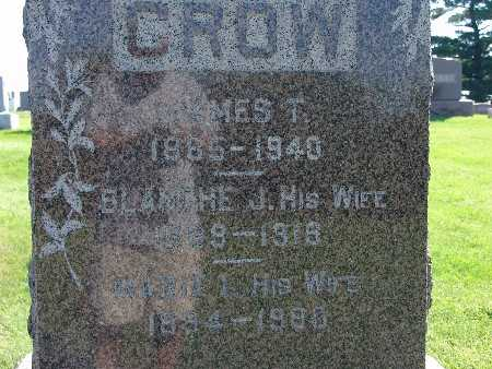 CROW, JAMES T - Warren County, Iowa | JAMES T CROW