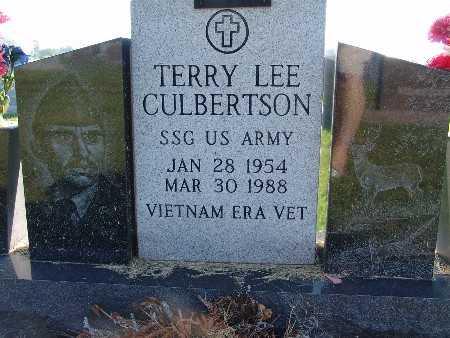 CULBERTSON, TERRY LEE - Warren County, Iowa   TERRY LEE CULBERTSON