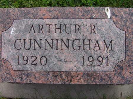 CUNNINGHAM, ARTHUR R. - Warren County, Iowa | ARTHUR R. CUNNINGHAM