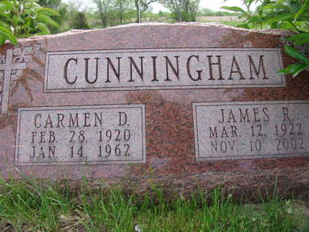 CUNNINGHAM, JAMES R. - Warren County, Iowa | JAMES R. CUNNINGHAM