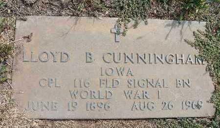 CUNNINGHAM, LLOYD B. - Warren County, Iowa | LLOYD B. CUNNINGHAM