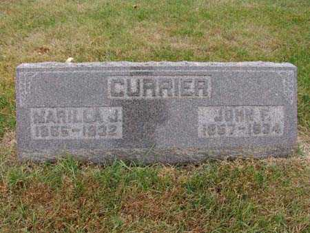 CURRIER, MARILLA J. - Warren County, Iowa | MARILLA J. CURRIER