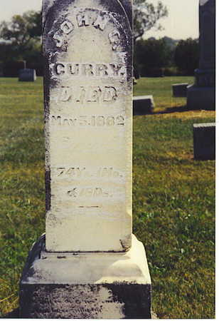 CURRY, JOHN - Warren County, Iowa | JOHN CURRY