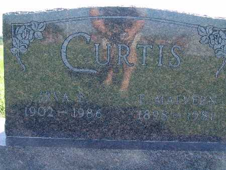 CURTIS, IRVA E - Warren County, Iowa | IRVA E CURTIS
