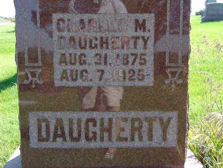 DAUGHERTY, CHARLES M - Warren County, Iowa | CHARLES M DAUGHERTY