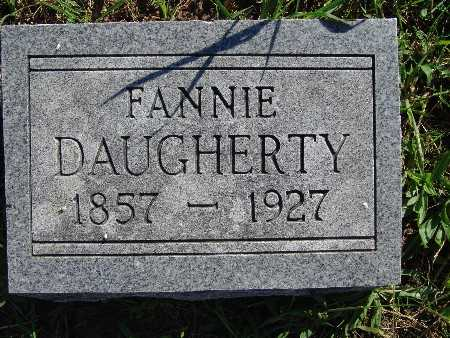 DAUGHERTY, FANNIE - Warren County, Iowa | FANNIE DAUGHERTY