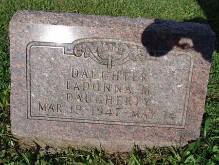 DAUGHERTY, LADONNA M. - Warren County, Iowa   LADONNA M. DAUGHERTY