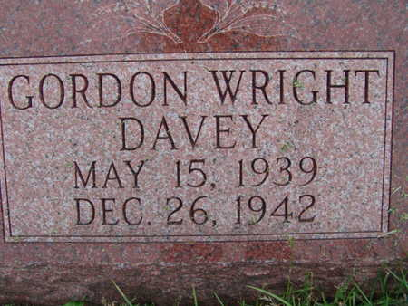 DAVEY, GORDON WRIGHT - Warren County, Iowa | GORDON WRIGHT DAVEY