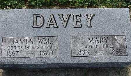 DAVEY, MARY - Warren County, Iowa | MARY DAVEY