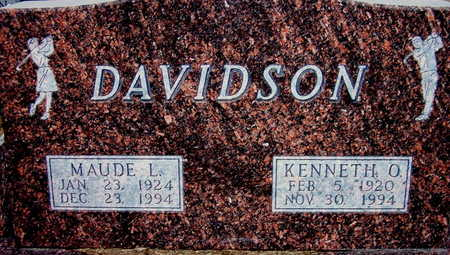 DAVIDSON, KENNETH - Warren County, Iowa | KENNETH DAVIDSON