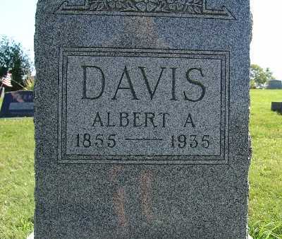 DAVIS, ALBERT A. - Warren County, Iowa | ALBERT A. DAVIS