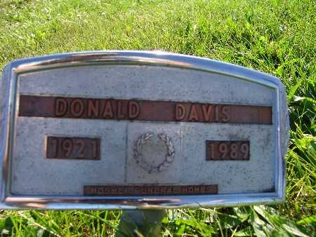 DAVIS, DONALD - Warren County, Iowa | DONALD DAVIS