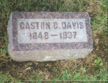 DAVIS, GASTON CROOKS - Warren County, Iowa | GASTON CROOKS DAVIS