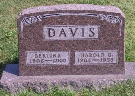 DAVIS, BERTINE - Warren County, Iowa | BERTINE DAVIS